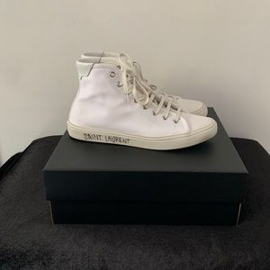 Saint Laurent Malibu mid-top sneakers